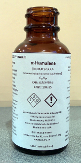 Alpha Humulene High Purity Aroma Compound 30ml