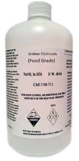 Sodium Hydroxide 1.0n Solution Food Grade, Wine Chemical