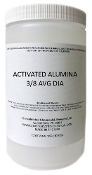 Activated Alumina Dessicant Pellets 3/8in Avg Dia