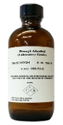 Benzyl Alcohol USP High Purity 120ML (4oz) Glass Bottle