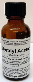 Styrallyl Acetate High Purity Aroma Compound 30ml